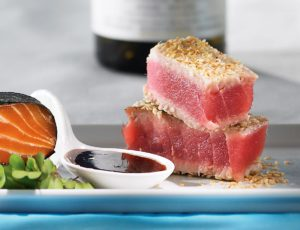 Tuna Tataki with Maple Syrup