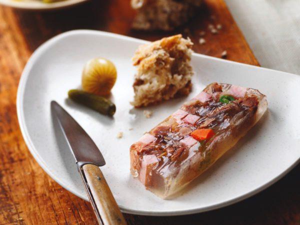 Recipe — Duck Confit in Maple Water Aspic