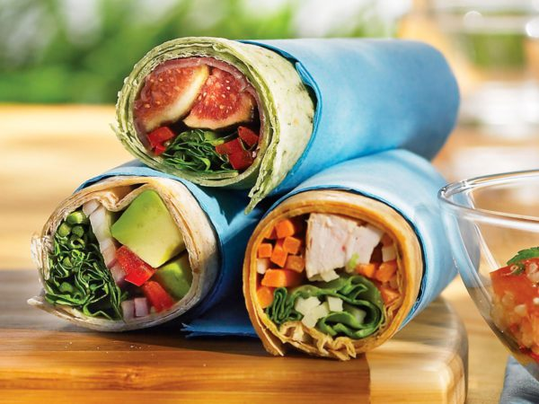 Recipe — Chicken Tortilla Wrap