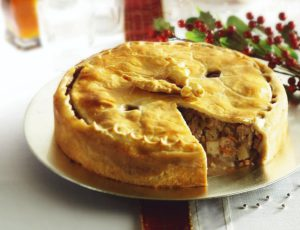 Pork Pie with Maple Syrup