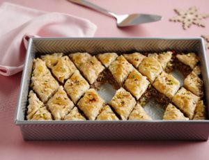 Meat Pie with Maple Baklava Style