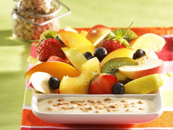 Recipe — Maple Syrup Fruit Dip