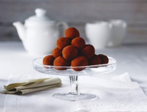 Maple-Almond Truffles