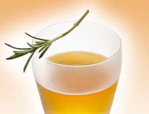 Maple-citrus Vodka with Rosemary