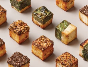 Maple-Caramelized Tofu Treats