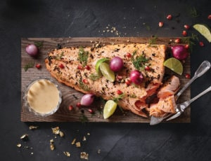 The Ultimate Smoked-Tea Maple Salmon