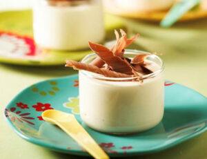 Maple-Mascarpone Pudding