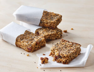 Gluten-Free Maple-Chia Chewy Bars