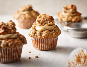 Maple Butter Oat Muffins