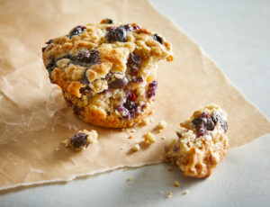 Maple-Blueberry Muffins