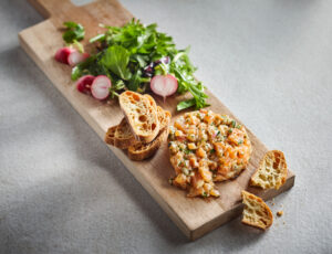 Maple Salmon Tartare