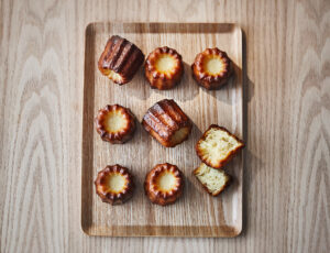 Maple Sugar Canelés