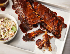 Maple-Miso Baby Back Ribs