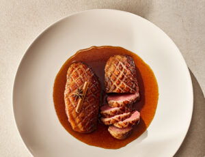 Five-Spice Maple-Glazed Duck Breasts
