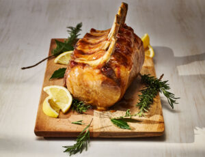 Maple-Gin Brined Pork Roast