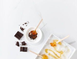 Maple Taffy and Dark Chocolate